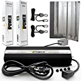 iPower GLSETX400DHMWING 400-Watt Light Digital Dimmable System for Plants - Wing Set