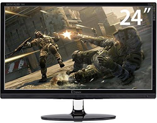 QNIX 24型ワイド 144 MULTI/LED液晶ディスプレイ/ゲーミングモニター/HDMI/(QX2414 LED 144MULTI/QXMO2415)