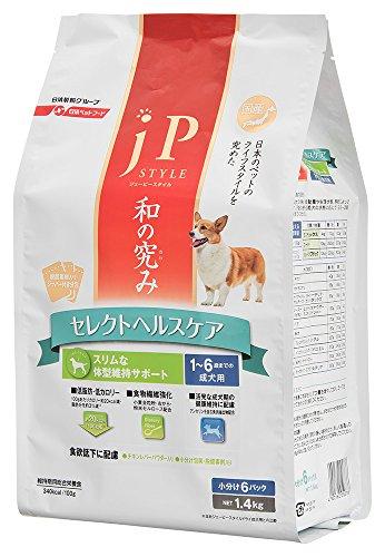 ジェーピースタイル 和の究み セレクトヘルスケア スリムな体型維持サポート 1-6歳までの成犬用 1.4kg