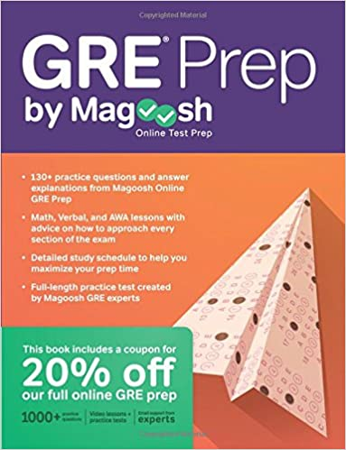 GRE Prep by Magoosh Free PDF Download, Read Ebook Online