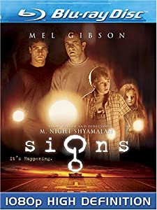 "Cover of ""Signs [Blu-ray]"""