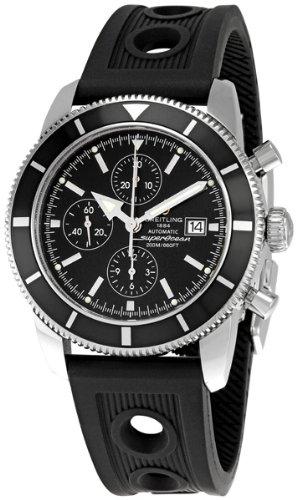 Breitling Men's BTA1332024-B908BKRD Superocean Heritage Black Dial Watch