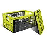 Clever Crates Folding Box 32 Liter - Celery Green