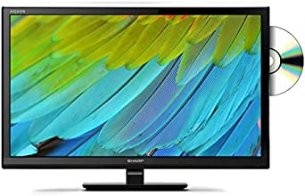 Sharp LC-24DHE4011K 24-Inch HD TV with Freeview and DVD