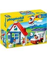 Playmobil 123 - 6769 - Figurine - Coffret Hôpital