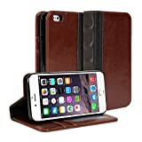 Gmyle Book Case Access for iPhone 6 Plus - Brown & Black