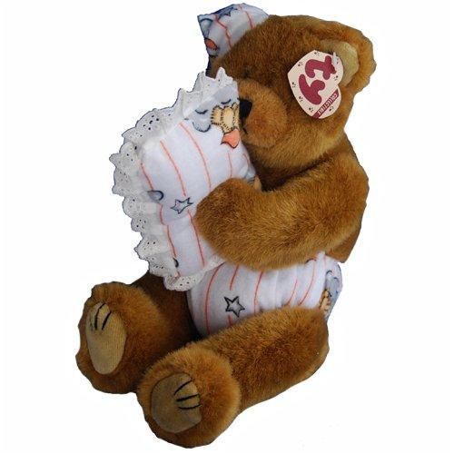"Ty Attic Treasures Precious 11"" Plush Baby Bear"