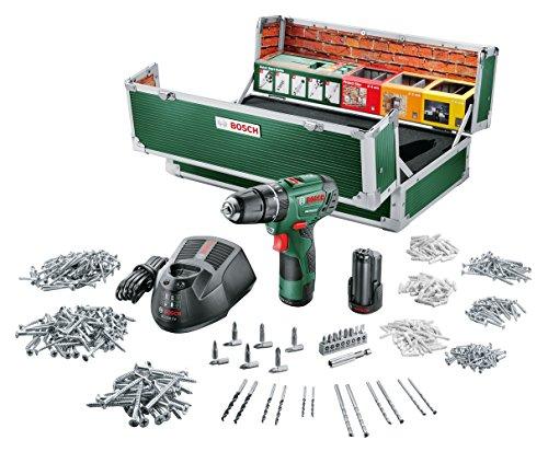 Bosch-DIY-Akku-Schlagbohrschrauber-PSB-108-LI-2-Toolbox-2-Akku-Ladegert-508-Zubehrteile-Koffer-108-V-20-Ah-Max-Schrauben--6-mm-Max-Bohr--StahlHolzStein-8206-mm