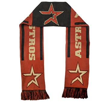 MLB Houston Astros Team Stripe Scarf by Forever Collectibles