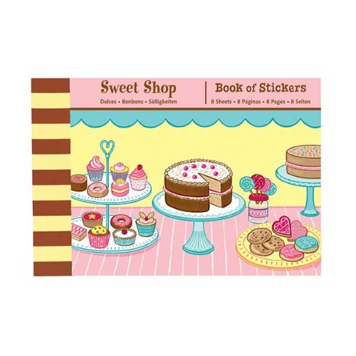 Mudpuppy Sweet Shop Book of Stickers - 1
