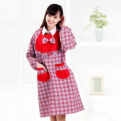 abito anti-maniche/Amo i vestiti grembiuli da cucina a casa/ globale-C