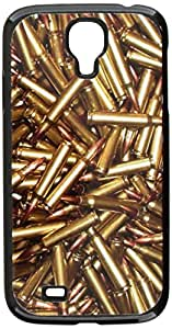 Graphics and More Bullets, Rifle Gun Weapon Snap-On Hard Protective Case for Samsung Galaxy S4 - Non-Retail Packaging - Black