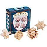 Brain Benders Wooden Puzzles