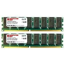 Komputerbay 2GB ( 2 X 1GB ) DDR DIMM (184 PIN) 333Mhz DDR333 PC2700 DESKTOP MEMORY