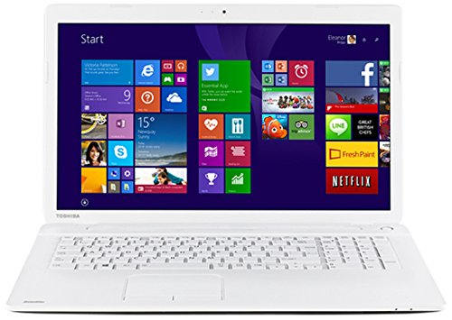 Toshiba C70D-B-311 PC Portable 17,3″ Blanc (AMD A4, 8 Go de RAM, Disque dur 1 To, Windows 8.1)