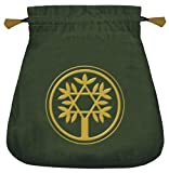 Celtic Tree Velvet Tarot Bag