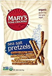 Mary\'s Gone Crackers Pretzels, Sea Salt, 7.5 Ounce (Pack Of 12)