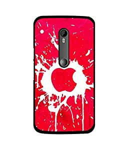 Crazymonk Premium Digital Printed Back Cover For Moto X Style