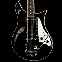 Duesenberg Double Cat - Black with Official Custom Line Case