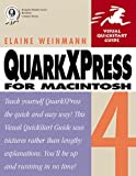 QuarkXPress 4 for Macintosh (0201696231) by Weinmann, Elaine