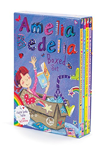 Amelia Bedelia Chapter Book Box Set: Books 1-4 (Gifts For 4 Yr Old Girls compare prices)