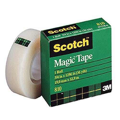 """Scotch Magic Tape, 1/2"""" X 1296"""""""