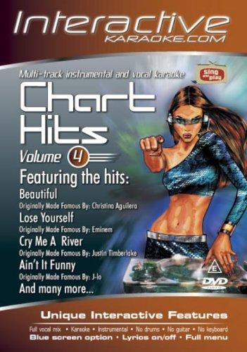 Karaoke Chart Hits - Interactive: Volume 4 [DVD]