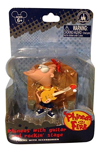 Disney Parks Phineas with Guitar and Rockin Stage Action Figure