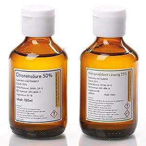 Natriumchlorit + Citronensäure 50% Set 2x150ml zum Mega-Preis!