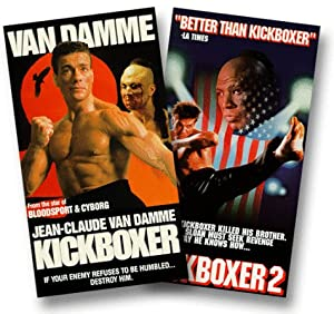 Kickboxer 1 and 2 [VHS]