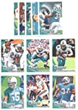 2010 Topps Miami Dolphins Complete Team Set of 11 cards with bonus 4 Pocket Notebook Set Includes Chad Henne, Brandon Marshall, Ricky Williams, Ronnie Brown, Koa Misi Rookie & more