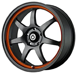 "Konig Forward Matte Gret with Orange Stripe Wheel (16x7""/5x100mm)"