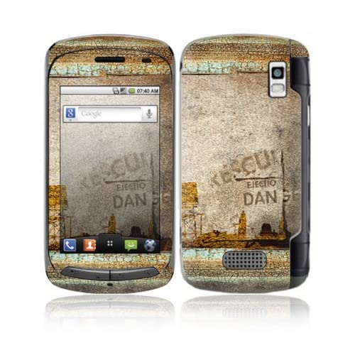 Danger Design Decorative Skin Cover Decal Sticker for LG Genesis US760 Cell Phone