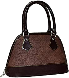 Utsukushii Women's Handbag (Coffee Brown) (BG465D)