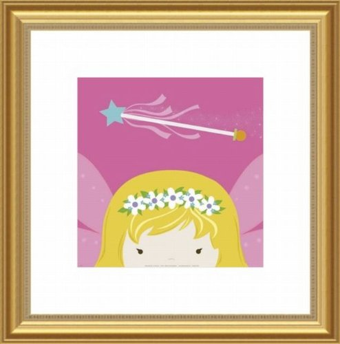 Barewalls Wall Decor by Yuko Lau, Peek A Boo Fairy