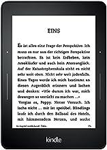 Kindle Voyage, 15,2 cm (6 Zoll) hochauflösendes Display (300 ppi) mit integriertem intelligenten Frontlicht, PagePress-Sensoren, WLAN