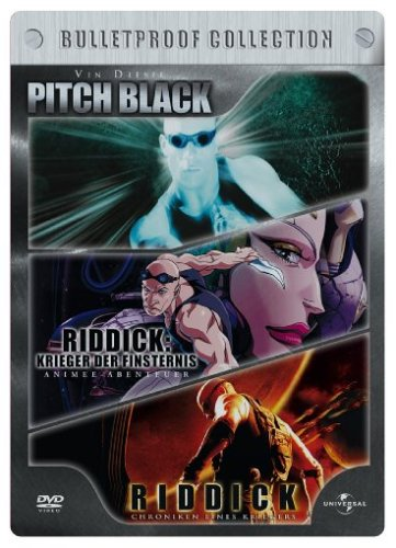 Pitch Black/Riddick/Riddick Animated (Limited Edition, Steelbook) [3 DVDs]