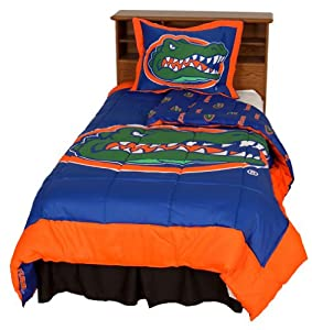 Florida Reversible Comforter Set - - Florida Gators by College Covers