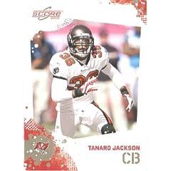 Tanard Jackson - Tampa Bay Buccaneers - 2010 Score Football Card - NFL Trading Card...