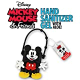 Adorable Disney Hand Sanitizer with Classic Mickey and Minnie Mouse Holder (1oz) (1, Mickey Mouse)