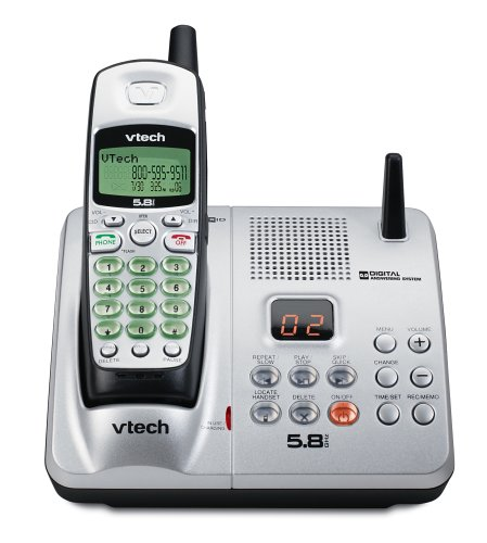 V-Tech Vt5854 5.8Ghz Cordless With Caller Id & Itad (Silver/Black)