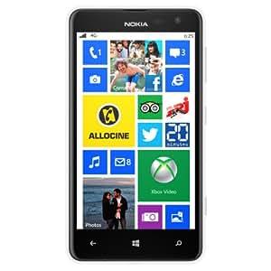 Nokia Lumia 625 Smartphone débloqué 4G (Ecran: 4.7 pouces - 8 Go - Windows Phone 8) Blanc