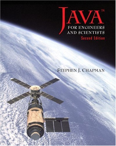 Java for Engineers and Scientists (2nd Edition), Chapman, Stephen J.