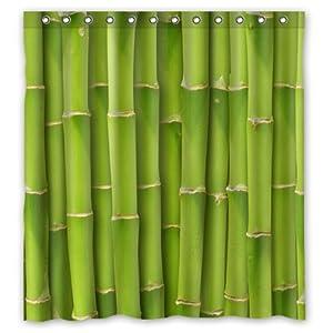 Bamboo ring curtain