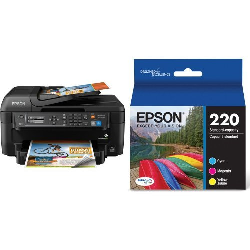 how to change ink cartridge on epson wf 2650