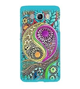 Printvisa Multicoloured Pattern Back Case Cover for Samsung Galaxy J7 (2016)::Samsung J710F