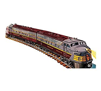 Williams by Bachmann Trains - Canadian Pacific Train Set (3 Vista-Domes and Observation)