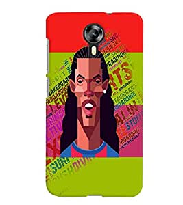 PrintVisa Sports Football 3D Hard Polycarbonate Designer Back Case Cover for Micromax Canvas Express 2 E313