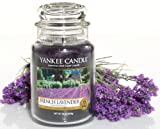 Yankee Candle Large French Lavender Jar Candle 1179831E