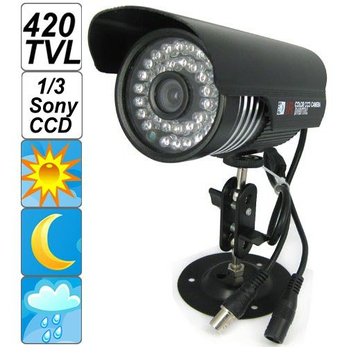 "SecurityIng   Black Housing 420 TVL 1/3""..."